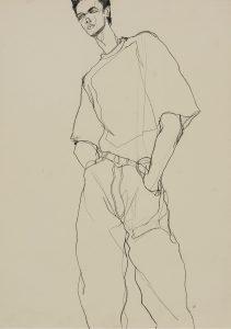 Standing Man – Seen From Below (Perspective), 1980-90