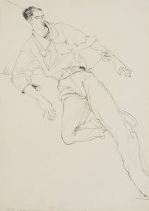 Mick H. (Lying, Full Figure – Buckle), 1980-82