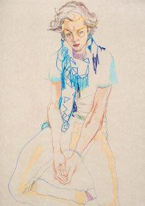 Arthur A. (Blue Scarf Around Neck), 2002-05