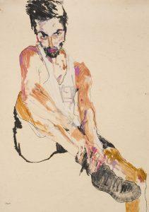 Asad (Hands on Legs), 2016-17