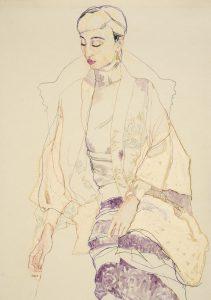 Maria N. (Cream Kimono), 2014-15