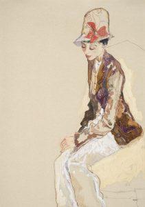 Maria N. (Stephen Jones Hat), 2013