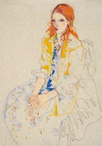 Julie V. (Giraffe Coat – Yellow Jacket), 2010-11