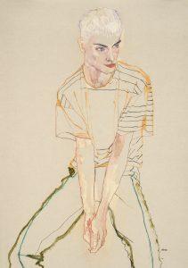 Phillip Ellis (Stripe, 3/4 Figure), 2014