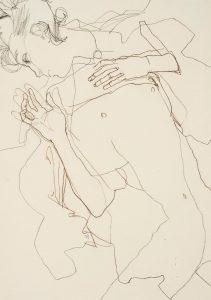 Arthur (Nude – Black and Blue Line), 2002-05