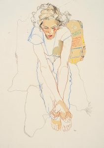 Arthur (Sitting – Hands to Feet), 2002-05