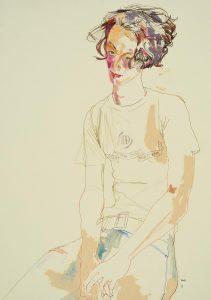 Arthur (Head on Hands, 'Basics' T-shirt), 2002-05