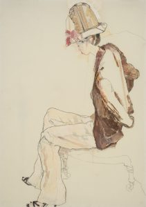 Maria Niso (Profile – Browns, With Hat), 2012