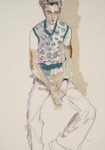 George (Vest With Spirals), 1998-99