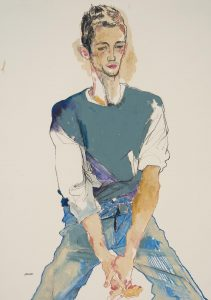 George (Sitting – All Blues), 1999
