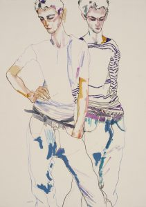 George (Two Figures – Standing, Hand on Hips), 1998