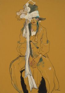 George (Sitting – Galliano Coat and Hat), 1998-99