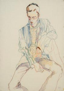 George (Sitting – Stripe Jacket, CDG), 2006