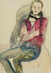 Jake W. (Seated, Arms Folded), 2012-13