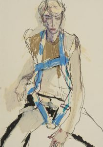 Ben W. (Seated – Blue Harness), 2016