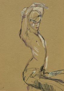 Jake W. (Hands Over Head – No Shirt), 2011-12