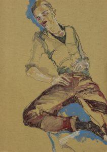 Jake W. (Sleeping, Red & Blue), 2011-12