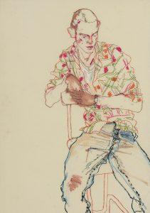 Michele P. (Check Shirt, Blue Jeans), 1998-2001