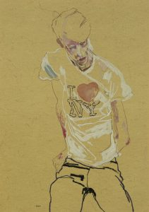 Michael R. (Sitting, I <3 NY), 2014