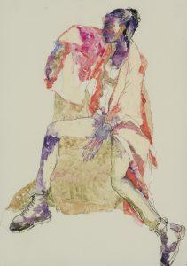 Anji (Red Kimono – Dr Martens), 2018