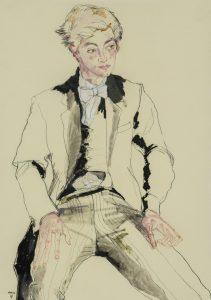 Eton Boy (Sitting), 2010-11