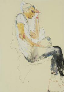 Francesco (Profile – White T-shirt, Black Trousers), 2019-19