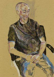 Jonathan (Sitting – Black Shirt), 2018