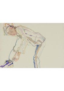 Katya (Lying Down, Legs on Floor), 2011-12