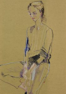 Adeline De M. (Sitting), 2015-16