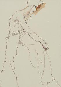 'Jon' Dancer (Twisting at Waist, Profile Head), 1990's