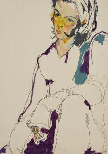 Brazilian Girl (Sitting – Cropped Figure), 1995