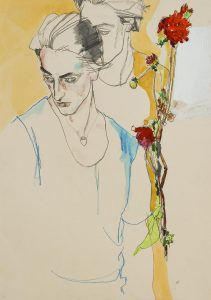 Giles Gough (Half Figures and Flowers), 1990's