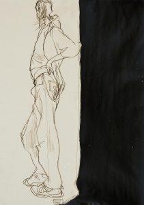 Neil Gilks (Standing, Half Figure Shape), 1997