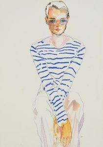 Neil Gilks (Sitting, hands Between Legs), 1999