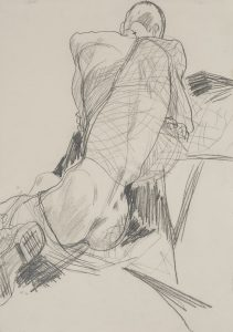 Stephan (Nude, Fishing Net), 1994