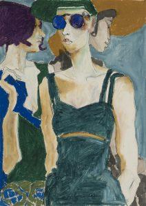Camilla (Three Figures), 1992-94