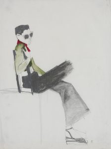 Girl on a Donkey (Sunglasses), 1970-74