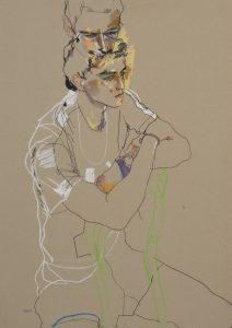 Richard N. (Sitting on Green Chair), c. 2005