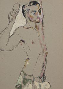 Giles G (Arms Overhead), 1990s
