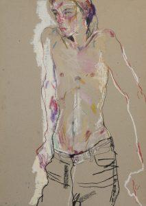 Neil G (Sitting, Shirtless), 1994-97