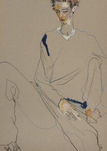 George O (Sitting), 1997-98
