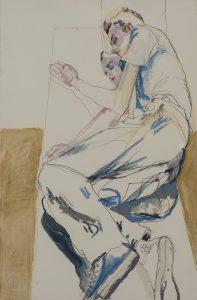 George (Lying on a Mirror), c. 1990