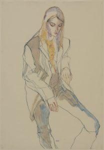 Katya (Sitting in George's Jacket), 2006