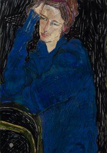 Camilla (Blue and Black), 1992-94